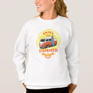 Sweatshirt Girl Surfing