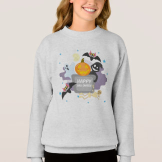 Sweatshirt Halloween Girl