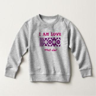 "Sweatshirt ""I AT the LOVE """