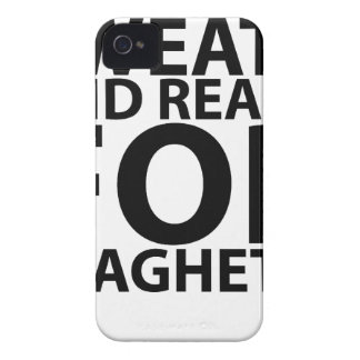 sweaty and ready for spaghetti tshirts.png Case-Mate iPhone 4 case