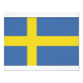 Sweden 11 Cm X 14 Cm Invitation Card