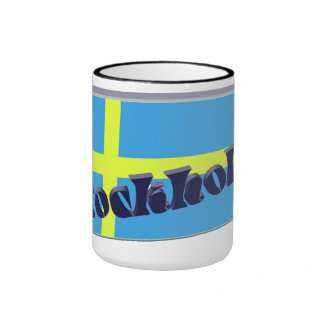 Sweden 3D+H Coffee Mug