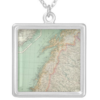 Sweden and Iceland Silver Plated Necklace