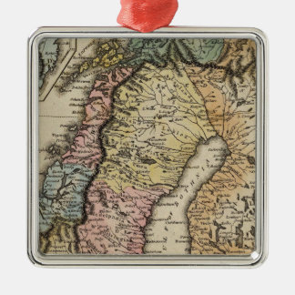 Sweden and Norway 3 Christmas Ornament