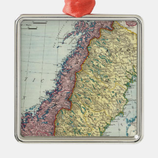 Sweden and Norway 5 Christmas Ornament