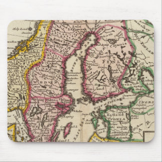 Sweden and Norway 6 Mouse Mat