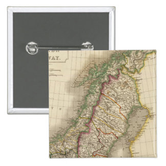 Sweden and Norway 8 15 Cm Square Badge