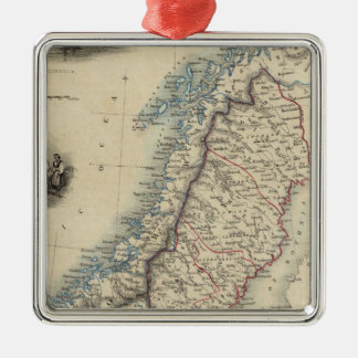 Sweden and Norway 8 Christmas Ornament