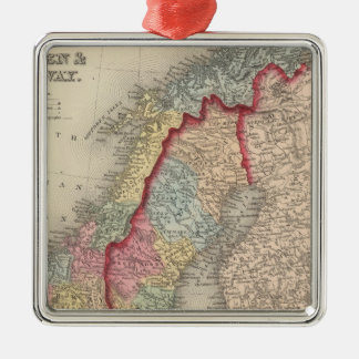 Sweden and Norway Christmas Ornament