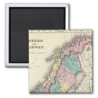 Sweden And Norway Magnet