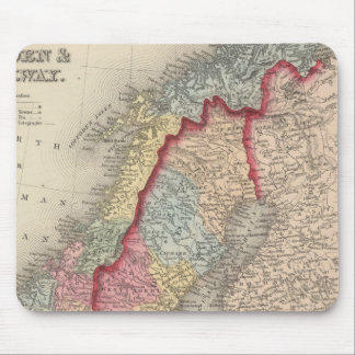Sweden and Norway Mouse Mat