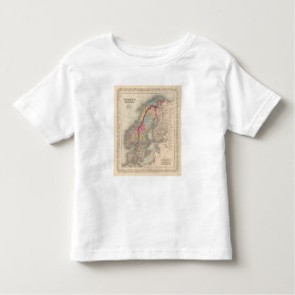 Sweden and Norway Toddler T-Shirt