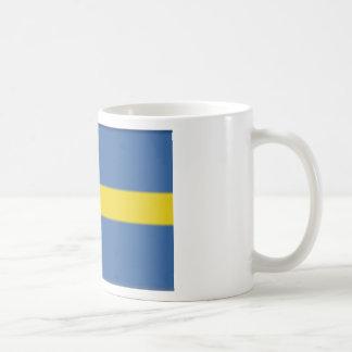 Sweden Basic White Mug
