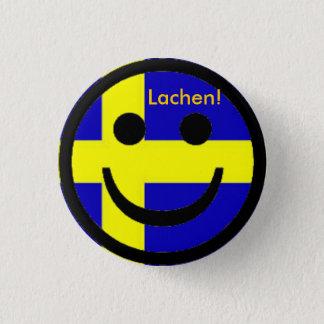 Sweden button smile