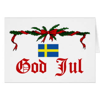 Sweden Christmas Card