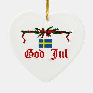 Sweden Christmas Christmas Ornament