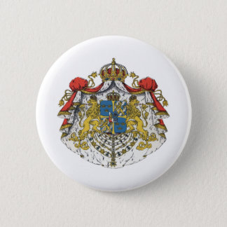 Sweden coat of arms 6 cm round badge