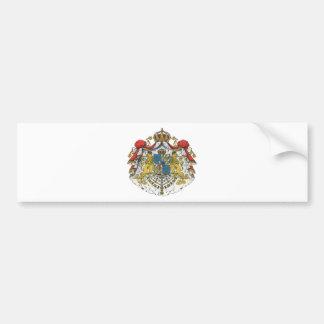 Sweden coat of arms bumper sticker