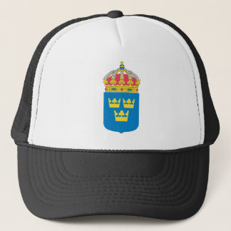 Sweden Coat of Arms (lesser) Trucker Hat