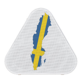 sweden country flag map