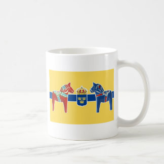 Sweden Dala Coat of Arms Coffee Mug