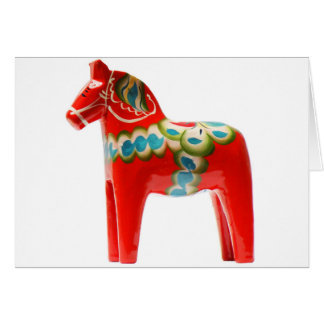 Sweden Dala Horse Card