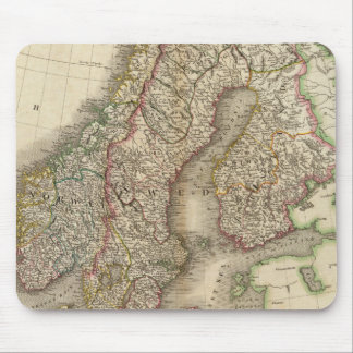 Sweden, Denmark and Norway Mouse Mat
