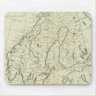 Sweden, Denmark, Norway, and Finland Mouse Mat