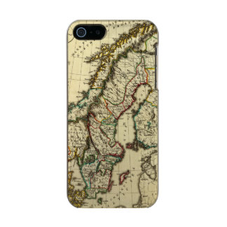 Sweden, Denmark, Norway with boundaries outlined Incipio Feather® Shine iPhone 5 Case