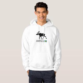 Sweden Elk and flag Hoodie
