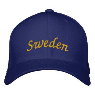 Sweden Embroidered Hat
