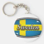 Sweden flag 1 key chain