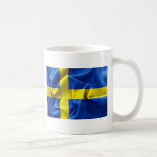 Sweden Flag Basic White Mug
