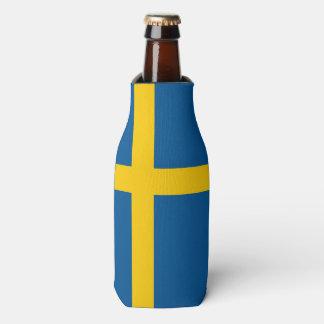Sweden Flag Bottle Cooler