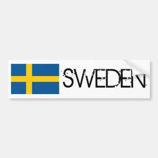 Sweden Flag Bumper Sticker