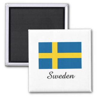 Sweden Flag Design Fridge Magnets