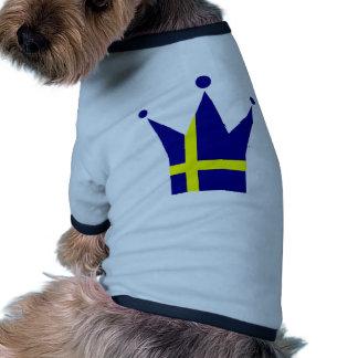 Sweden Flag Doggie T-shirt