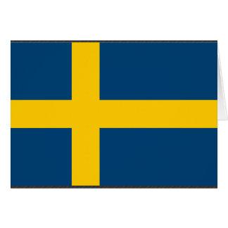 Sweden Flag Greeting Card