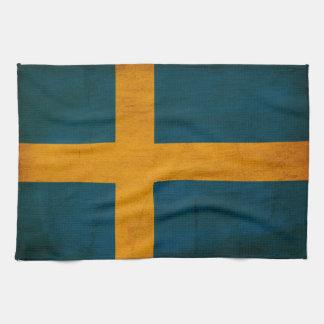 Sweden Flag Hand Towels