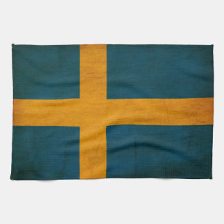 Sweden Flag Hand Towels