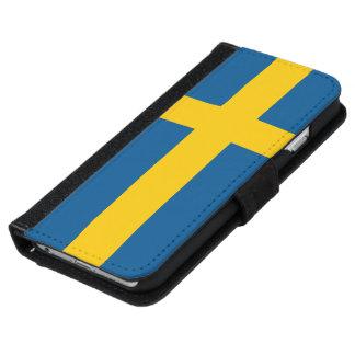 Sweden Flag iPhone 6 Wallet Case