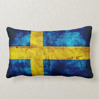 Sweden Flag Lumbar Cushion