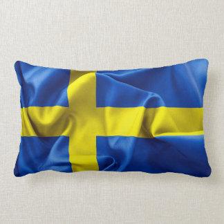Sweden Flag Lumbar Pillow