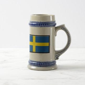 Sweden Flag Coffee Mugs