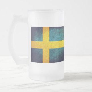 Sweden Flag; Mug