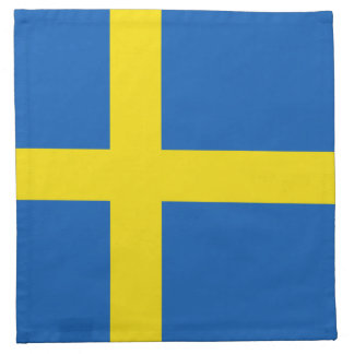 Sweden Flag Napkin