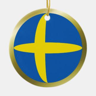 Sweden Flag Ornament