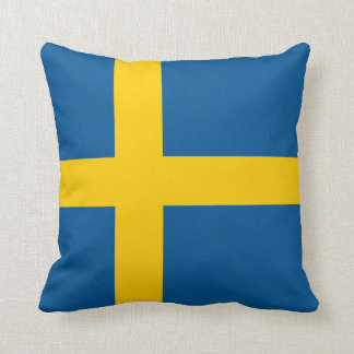 Sweden Flag pillow Throw Cushion