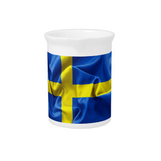 Sweden Flag Pitcher