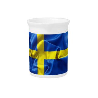 Sweden Flag Pitcher
